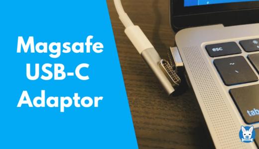 【Magsafe マグネット USB C アダプター レビュー】Macbook Airの充電にも良し