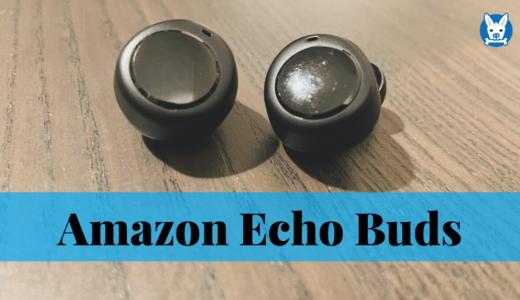 【Amazon Echo Buds 購入レビュー】Boseのノイズリダクション付きワイヤレスイヤホン【日本】