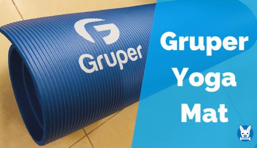 【Grouper ヨガマット レビュー】筋トレにも使える厚さ10mmのヨガマット