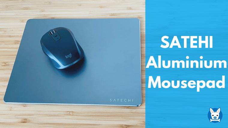SATEHI アルミニウム マウスパッド