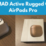 AirPods Pro ( エアーポッズ プロ) のレザーケース【NOMAD Active Rugged Case レビュー】【防水】