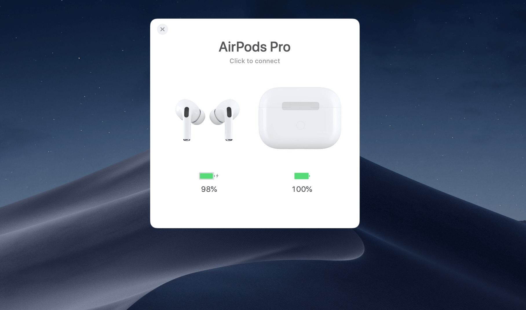 充電 残 量 airpods